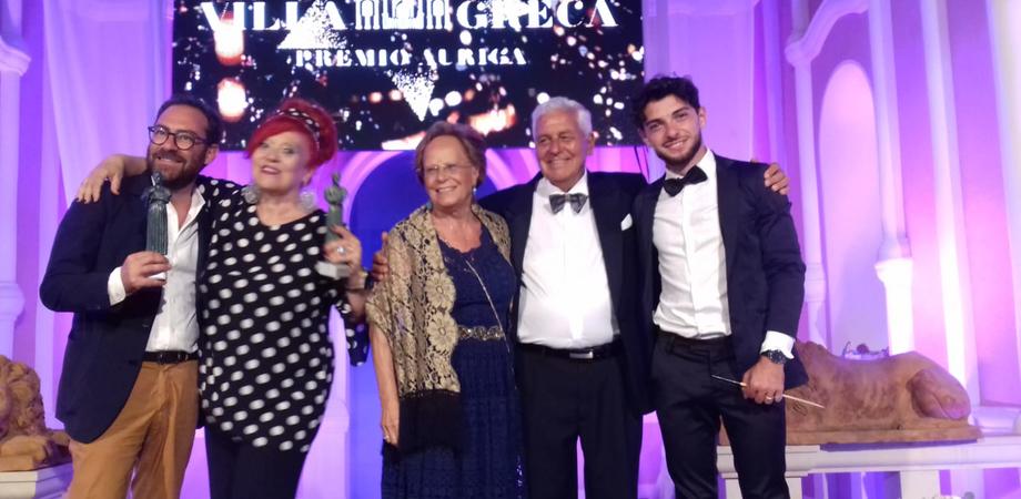 """Notte sotto le stelle a """"Villa Greca"""", premio Auriga a Gela a tre eccellenze siciliane"""
