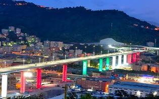 A due anni dal crollo, il ponte di Genova rinasce dalle macerie: l'inaugurazione con Conte e Mattarella