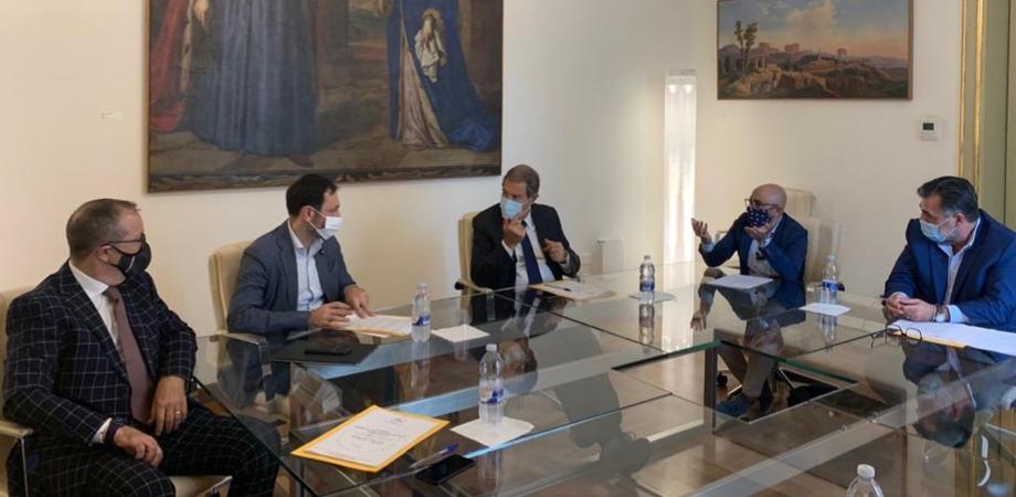 Salute: il presidente della Regione Siciliana Musumeci incontra Federazione talassemici