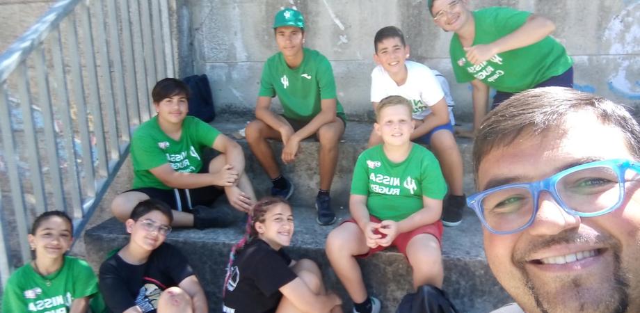 """DLF Nissa Rugby, padre Cammarata: """"Il campus estivo è un evento  eccellente per rendere i ragazzi forti e coraggiosi"""""""