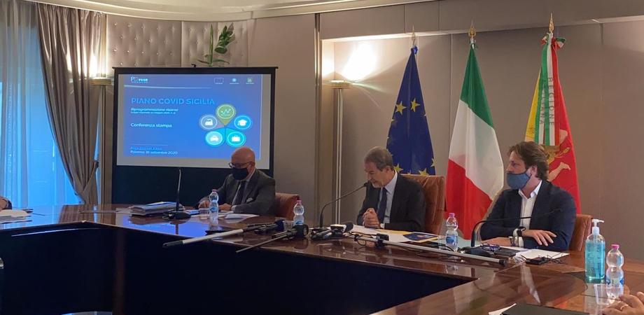 Sicilia: da governo Musumeci Piano Covid da 278 milioni di euro