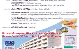 A Mazzarino un convegno su oncologia, anatomia patologica e medicina di precisione