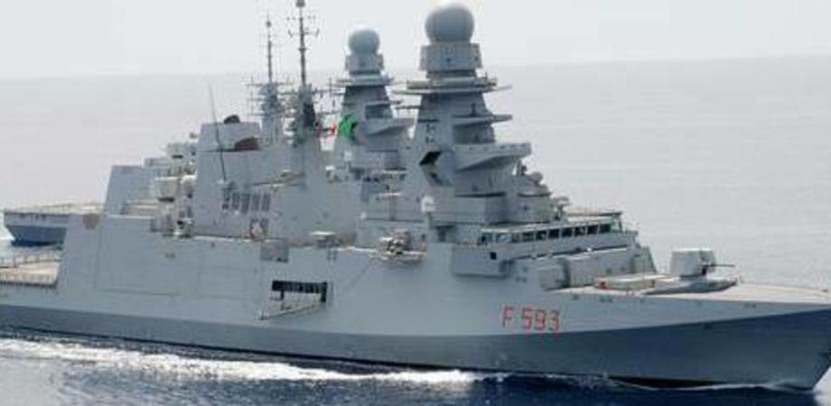 Emergenza sulla nave Margottini: 47 militari positivi al coronavirus, 4 sono gravi