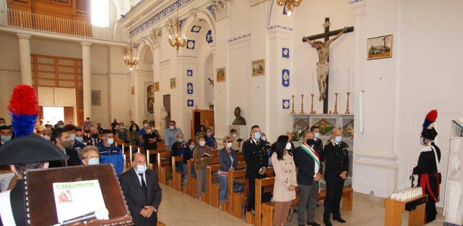 Montedoro, cerimonia di commemorazione in ricordo dell'appuntato Giovanni Salvo
