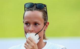 Federica Pellegrini in lacrime: