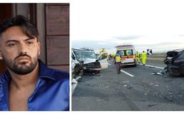 Scontro sulla Palermo-Catania: il cantante Daniele De Martino ferito nell'incidente