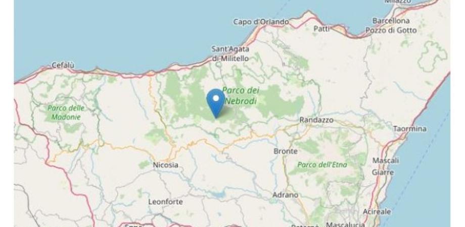 Terremoto tra Messina ed Enna, registrata una scossa di magnitudo 3.2: epicentro a Capizzi
