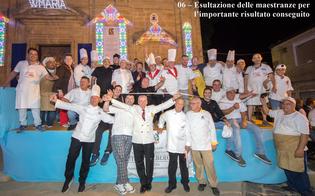 Realizzato a Mazzarino il torrone più lungo del mondo da 1004 metri: arriva la conferma dal Guinnes World Records