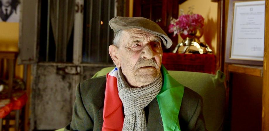 A San Cataldo Giuseppe Riggi spegne 100 candeline, gli auguri dell'Associazione Nazionale Partigiani d'Italia