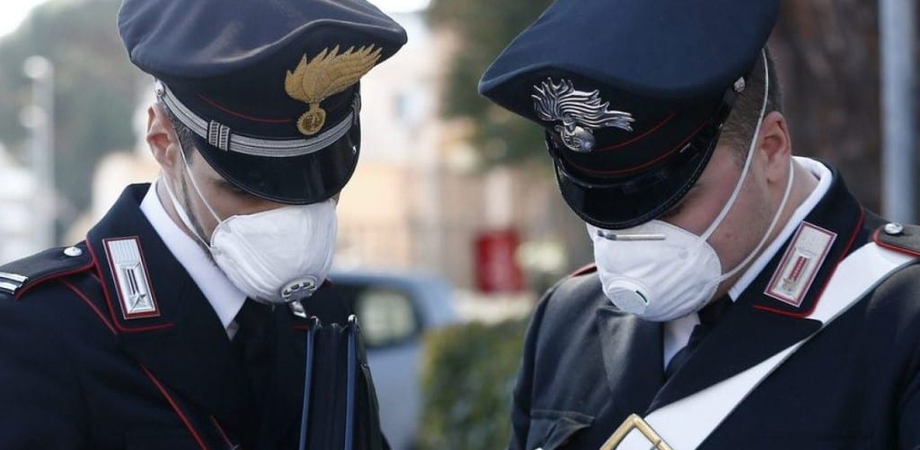 Santa Caterina Villarmosa, positivo al covid-19 va a trovare la madre: denunciato dai carabinieri