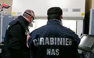 Coronavirus, ispettori del Ministero e carabinieri dei Nas al Sant'Elia di Caltanissetta