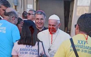 Imbrattate a Palermo foto del Papa e di Don Pino Puglisi: si trovano vicino la casa del Beato
