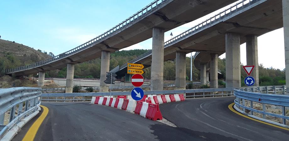 SS 640 Agrigento-Caltanissetta, pronta per l'apertura la rotatoria che permetterà di immettersi sul viadotto Salso