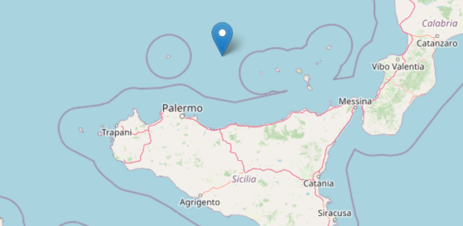 Terremoto, quattro scosse in poche ore in Sicilia: la più forte di magnitudo 3.6