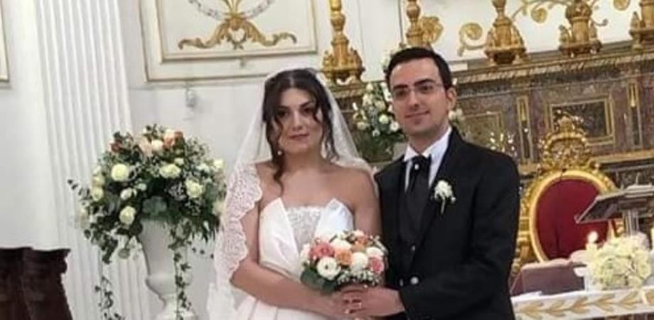 Due musicisti internazionali si sposano a Gela, festeggiamenti in streaming per Alberto ed Erika