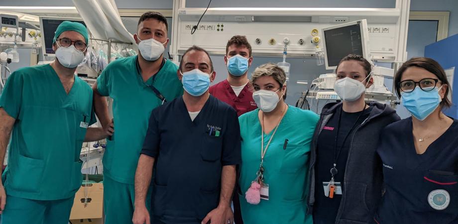 Caltanissetta, paziente va in arresto cardiaco più volte ma medici e infermieri riescono a salvarla