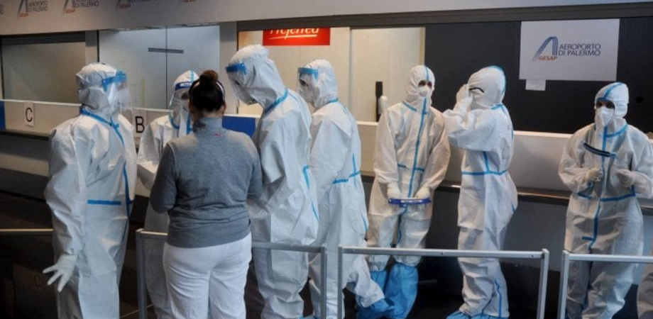 Variante Covid, negativi i 134 passeggeri giunti ieri sera all'aeroporto di Palermo