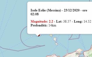 Terremoto in Sicilia, altre due scosse di magnitudo 2.4 e 2.2 nelle Isole Eolie