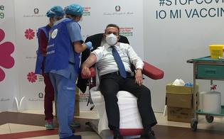 Vaccino, prima dose anche al presidente dell�Ordine dei Medici di Caltanissetta: