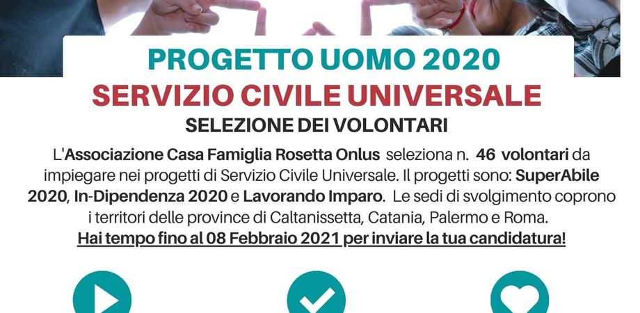 Caltanissetta, al via a Casa Rosetta tre progetti per 46 giovani volontari