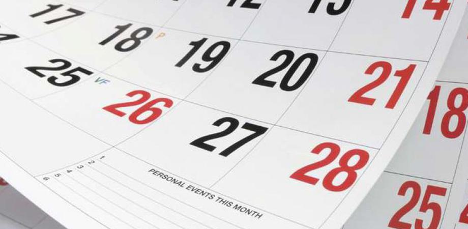 Nel 2021 non ci sarà nessun ponte durante i giorni di festa: ecco il calendario completo del nuovo anno