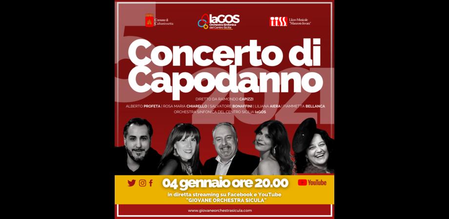 Concerto di Capodanno al teatro Margherita di Caltanissetta: il 4 gennaio diretta streaming sui social