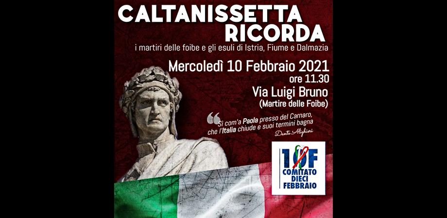 """Caltanissetta ricorda le vittime delle foibe, il Comitato: """"Una ferita ancora aperta"""""""