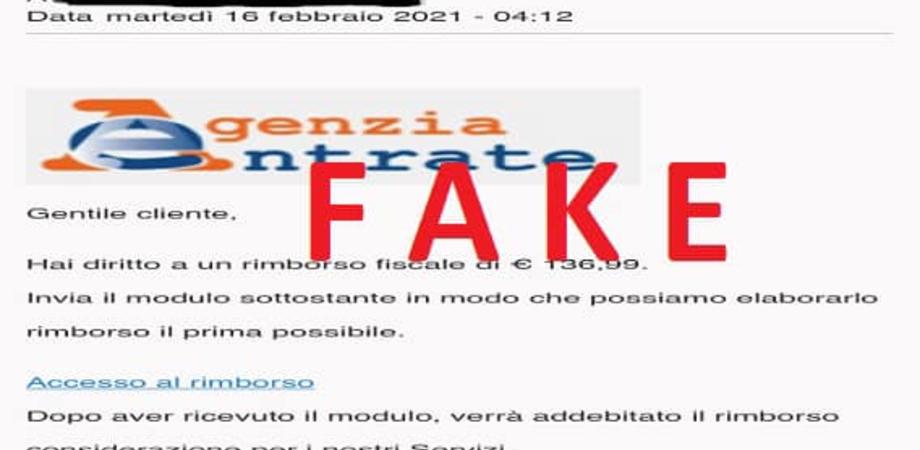Nuova frode informatica con false mail dall'Agenzia delle Entrate: allerta della Polizia Postale