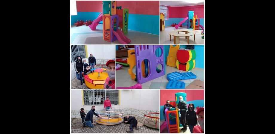 """Mussomeli, il Comune acquista giochi per i bimbi. Il sindaco: """"Investiamo sul loro sorriso"""""""