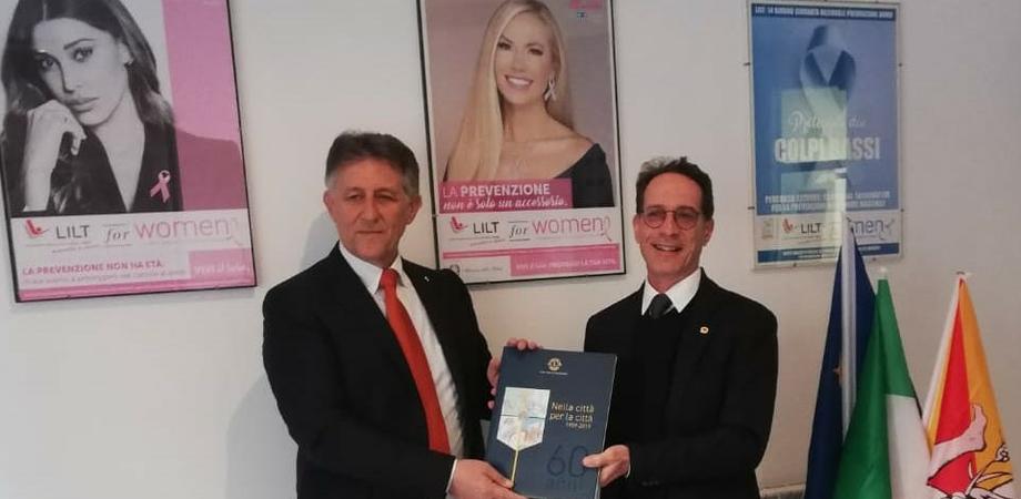 Lotta contro i tumori, il Lions Club Caltanissetta dona a Lilt un colposcopio per la prevenzione del cancro