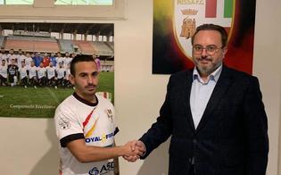 Calcio, colpo di mercato per la Nissa: arriva l'attaccante Peppe Prestia