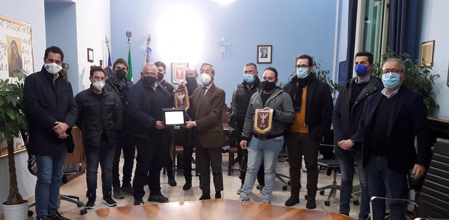 Campionati nazionali di skeet: il sindaco di Gela incontra gli atleti dell'Asd Trinacria