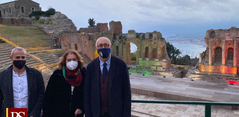 """Riapre il Teatro Antico di Taormina, Samonà: """"Cultura è potente fattore di attrazione"""""""