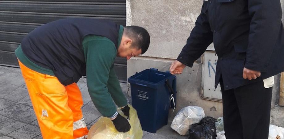 Raccolta differenziata a Caltanissetta, controlli a tappeto: elevate oltre 40 sanzioni in un mese