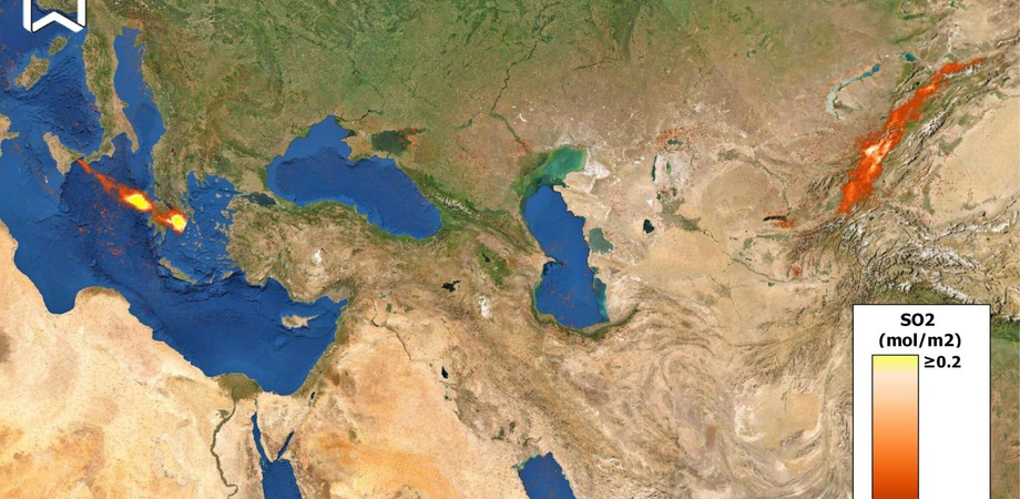 Etna, la nube di gas arriva fino in Cina: a svelarlo sono le immagini immortalate da un satellite