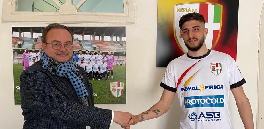 Calcio, nuovo acquisto per la Nissa: arriva il bomber Giorgio Stassi