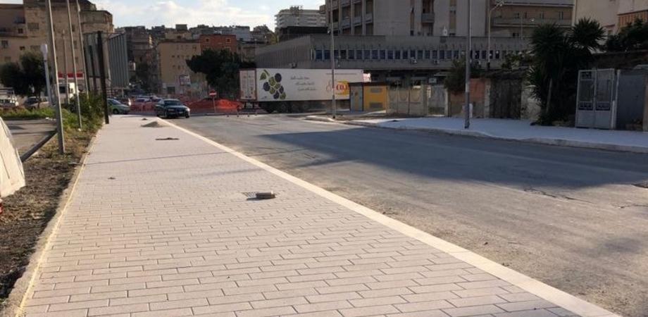Via Niscemi a Gela si rifà il look: conclusa la prima fase dei lavori. Strada riaperta al traffico