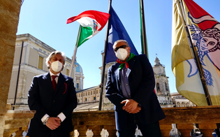 Festa della Liberazione, al Comune di Caltanissetta sventola la bandiera dell'Anpi