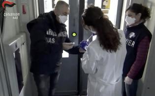 Covid su bus e treni: i carabinieri del Nas trovano tracce di virus su pulsanti e maniglie