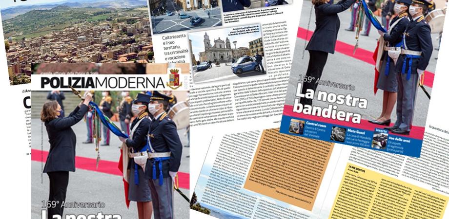 Polizia Moderna dedica un articolo a Caltanissetta: un territorio tra criminalità e vocazione alla legalità