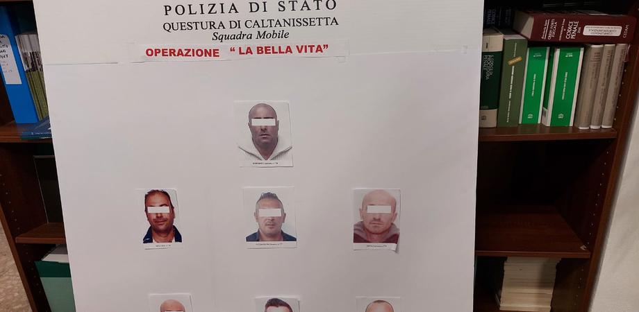 """Caltanissetta, operazione """"La bella vita"""": ecco chi sono gli arrestati"""