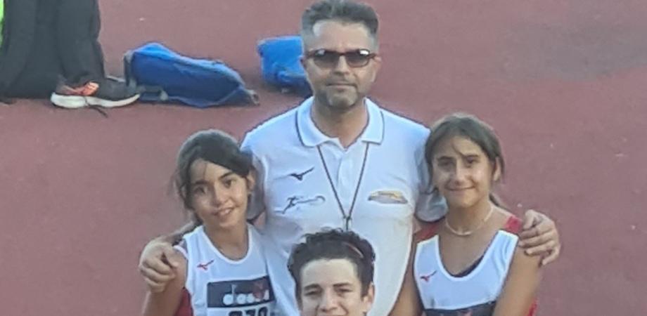 Trofeo delle province a Catania, l'Atletica Caltanissetta conquista tre medaglie
