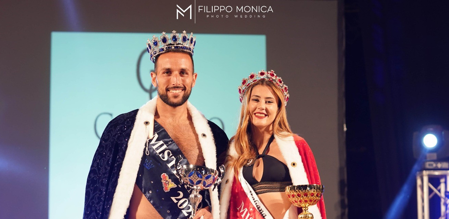 La Scala della Moda a Enna: Amina Castellana e Amedeo Ruggiero Miss e Mister Moda