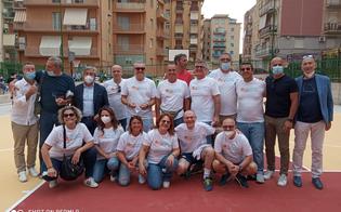 Caltanissetta, riaperto dopo 40 anni il campetto di basket di via Dalmazia