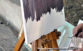 Caltanissetta, al quartiere San Francesco un'estemporanea di pittura