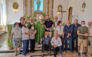 San Cataldo, il vescovo Enrico Dal Covolo in visita presso la comunità salesiana