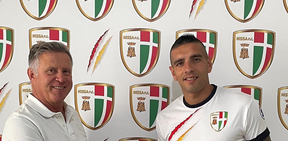 """Colpaccio della Nissa, preso il bomber Davide Testa: """"Un attaccante di qualità"""""""