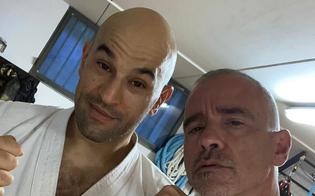 Luigi Passamonte, il nisseno maestro di karate di Ramazzotti: