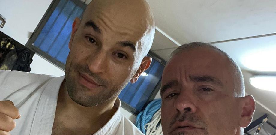 """Luigi Passamonte, il nisseno maestro di karate di Ramazzotti: """"E' una persona stupenda"""""""