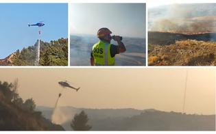 Caltanissetta, vasto incendio a Sabucina: fiamme distruggono un'area di 30 ettari